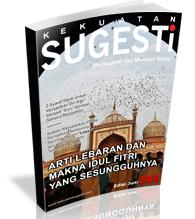 Majalah kekuatan sugesti Edisi Keempat puluh Delapan Majalah Kekuatan Sugesti Bulan Juni 2018