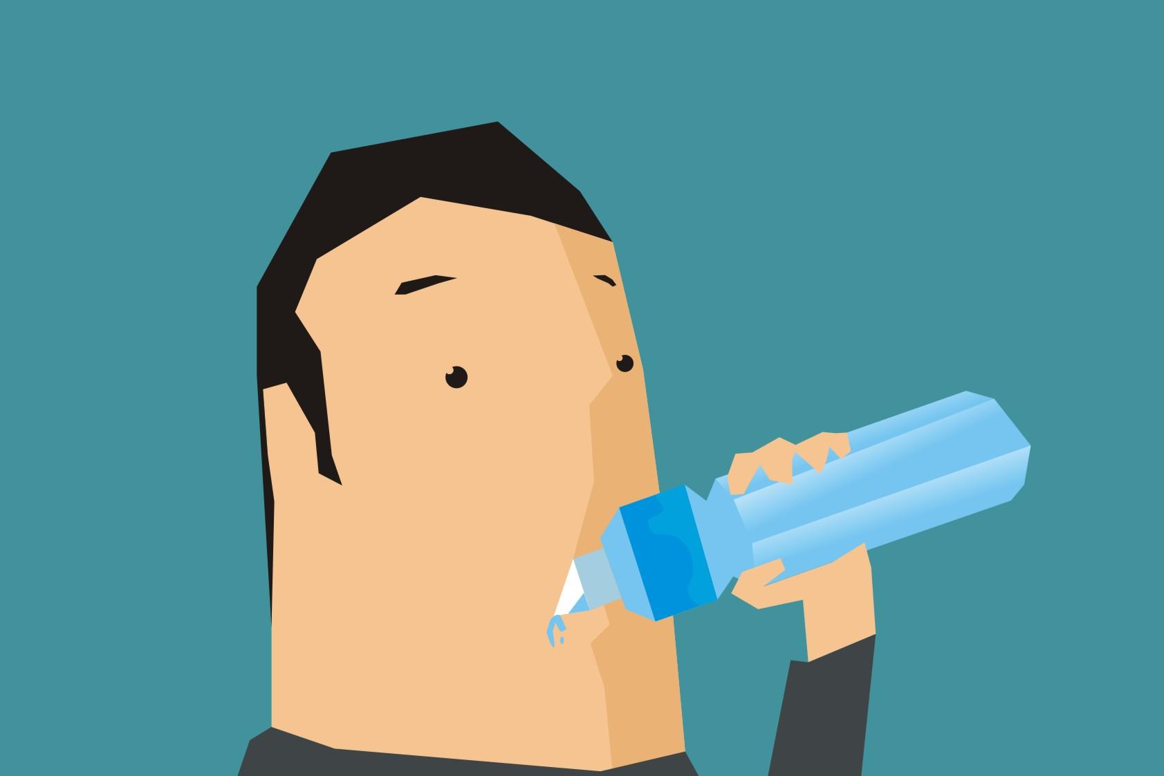 Waspada Bahaya Dehidrasi Bagi Tubuh, Khususnya Pada Otak
