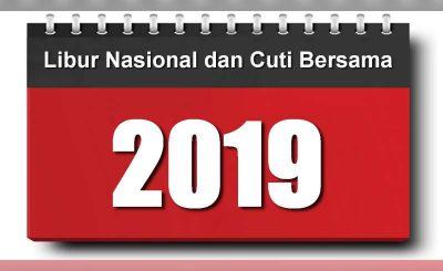 Daftar Libur Nasional & Cuti Bersama Tahun 2019 yang terkadang mensugesti orang untuk santai bersama kluarga