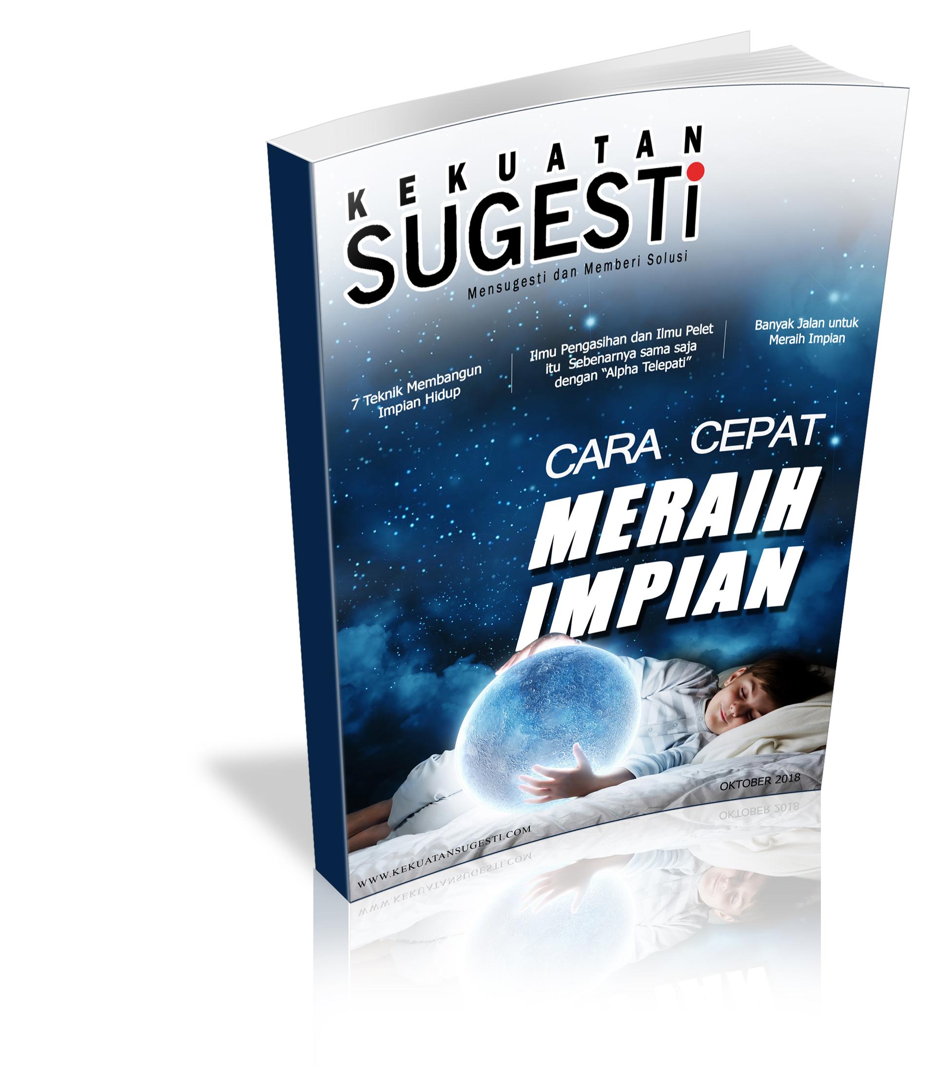 Majalah kekuatan sugesti Edisi Kelimapuluh Dua