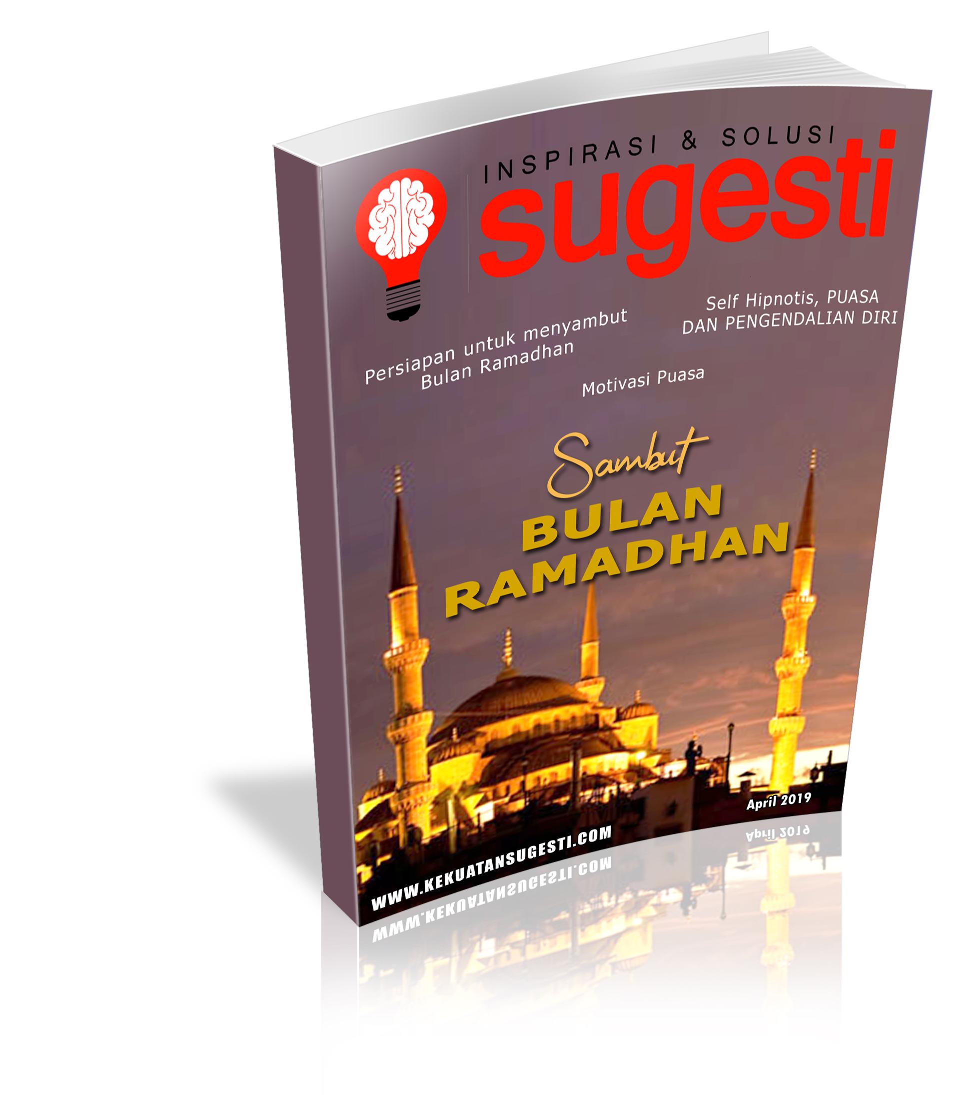 Majalah Sugesti Edisi Kelimapuluh Delapan Bulan April 2019