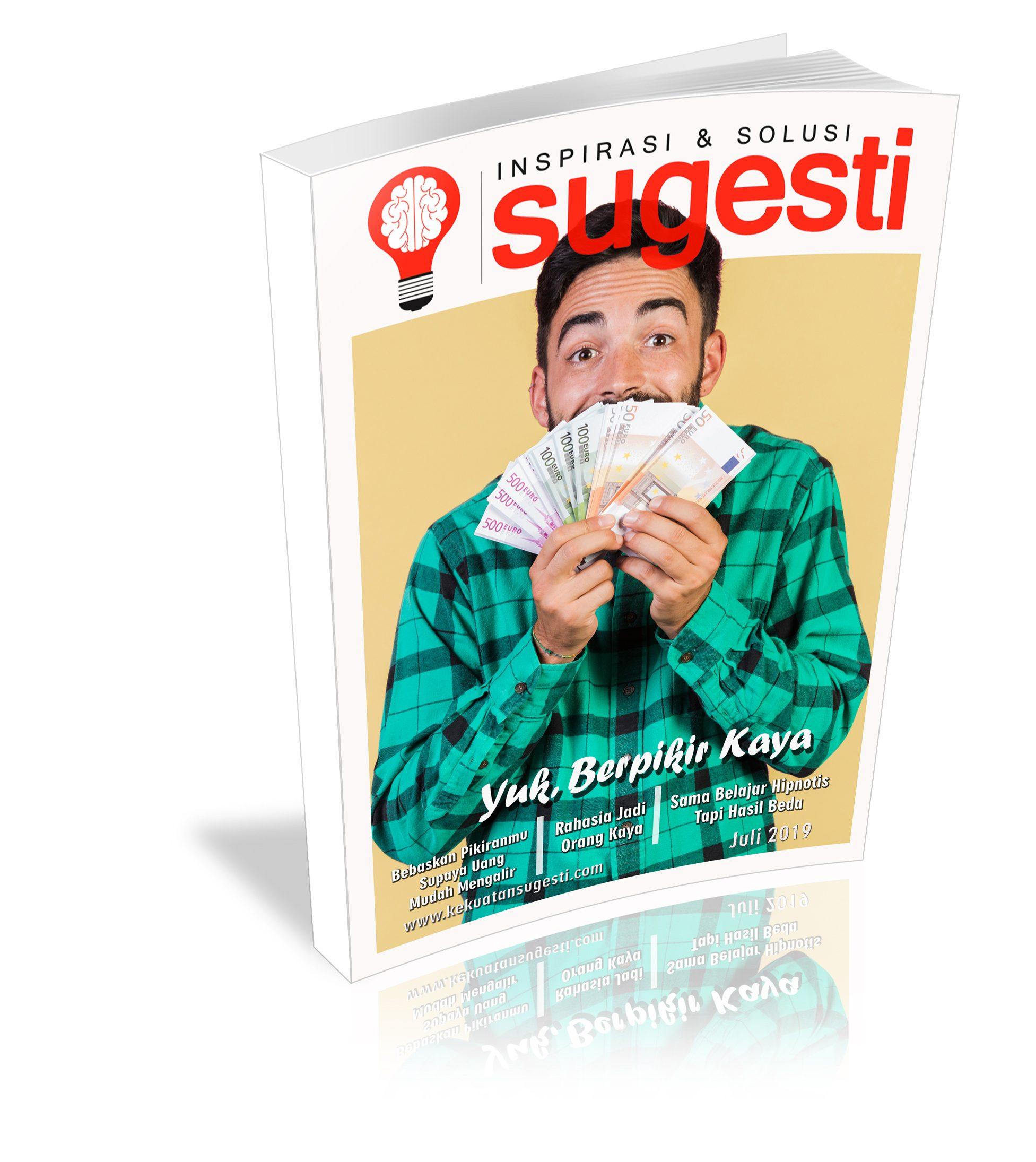Majalah Sugesti Edisi Keenampuluh satu  bulan Juli 2019