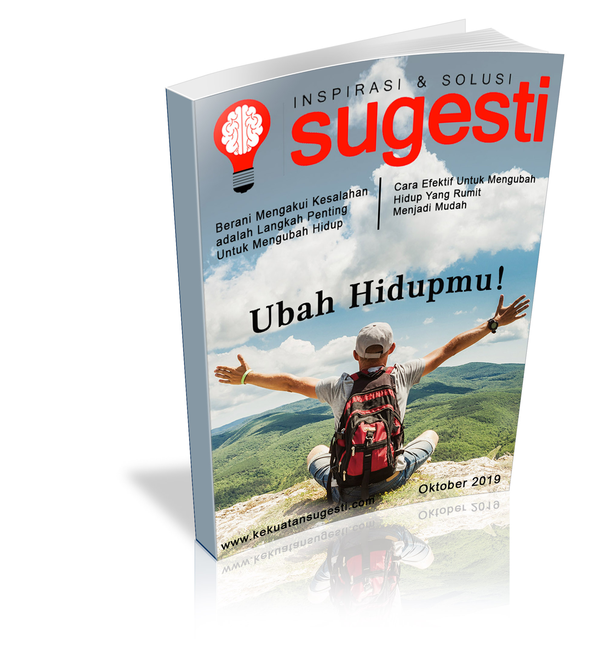 Majalah Sugesti Edisi Keenampuluh Empat  bulan Oktober 2019