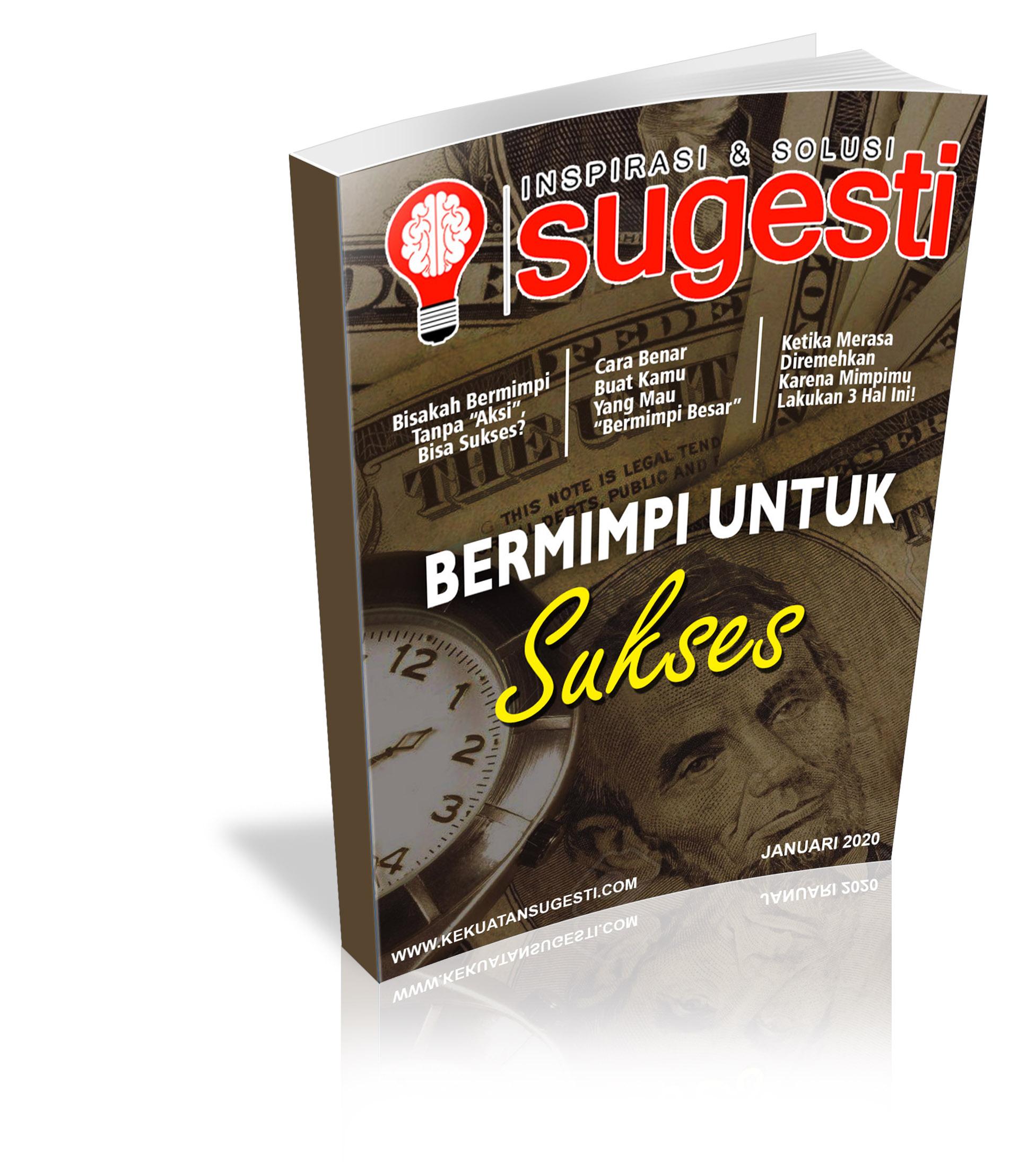 Majalah Sugesti Edisi Keenampuluh Tujuh bulan Januari 2020
