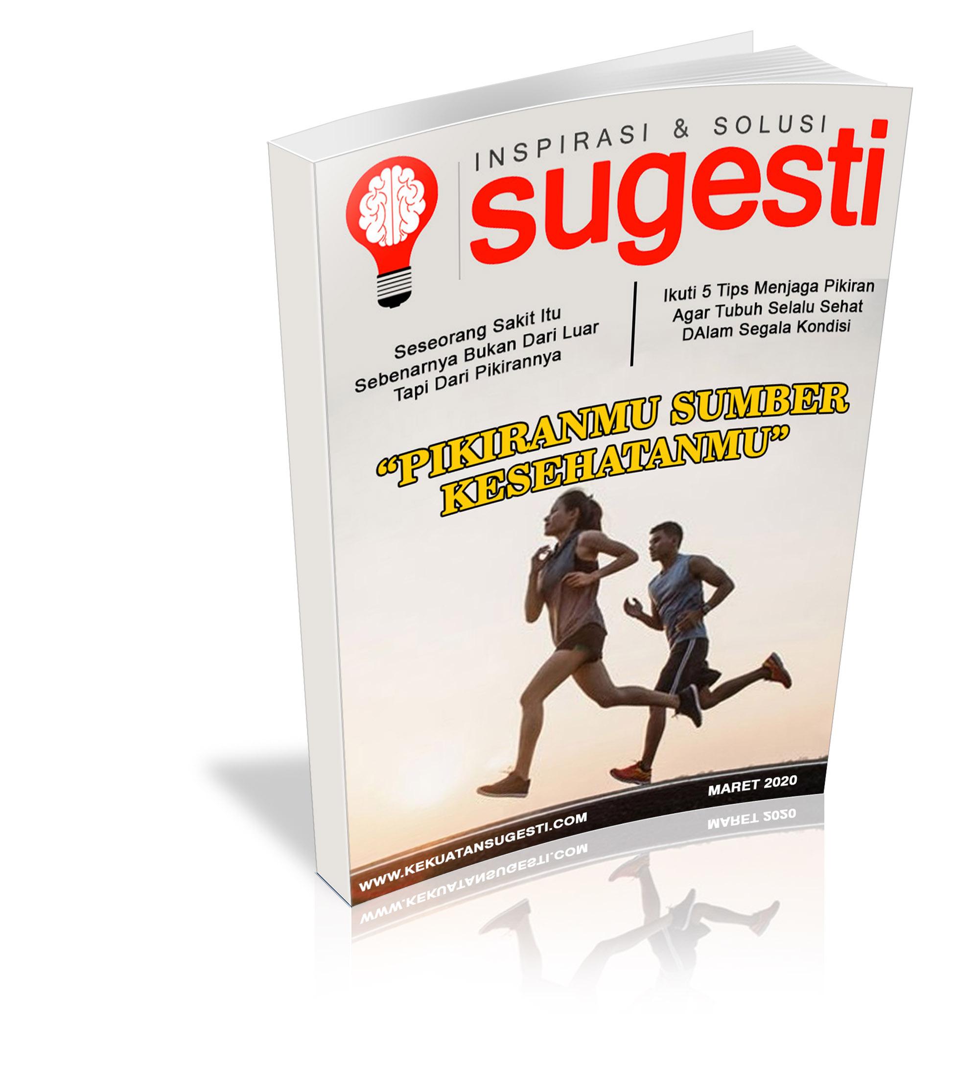 Majalah Sugesti Edisi Keenampuluh Sembilan bulan Maret 2020