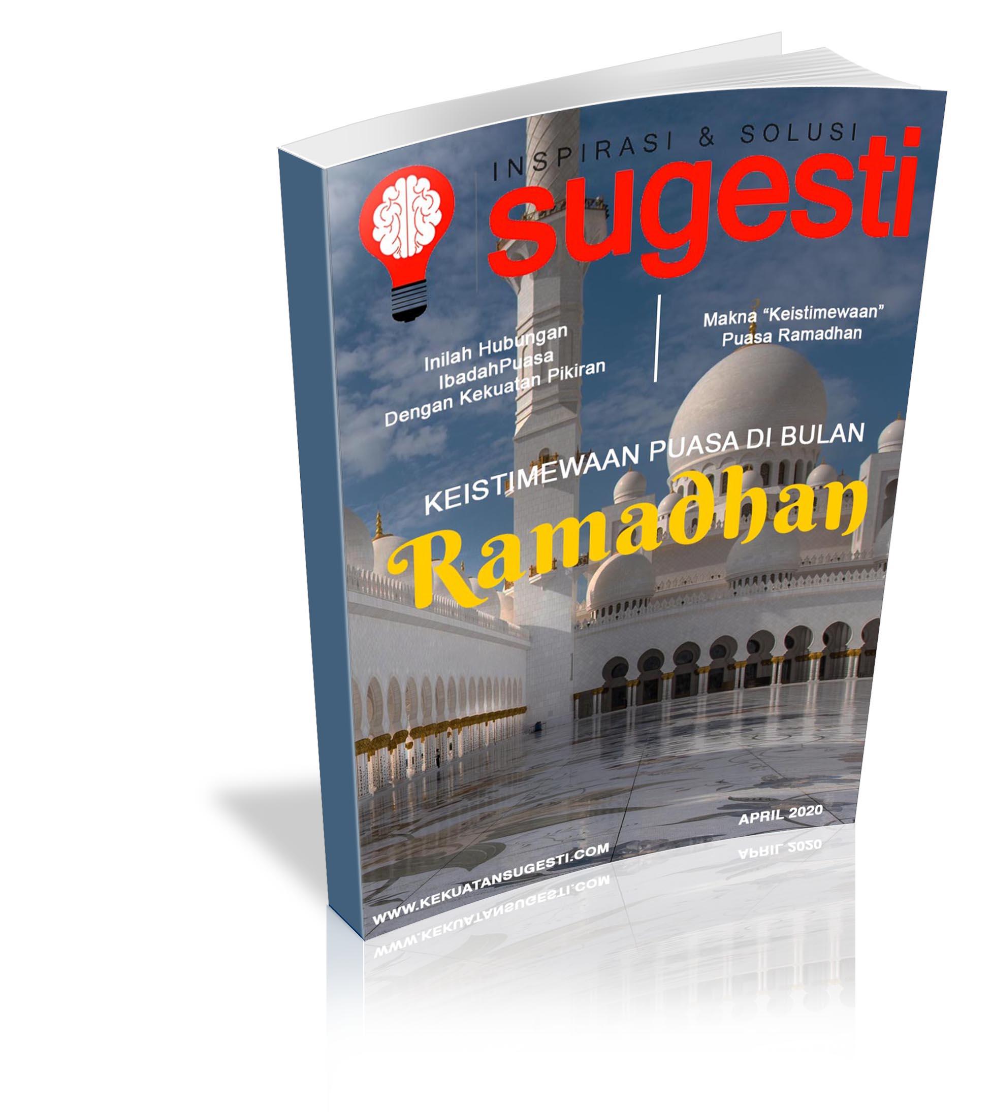 Majalah Sugesti Edisi ke Tujuh Puluh bulan April 2020