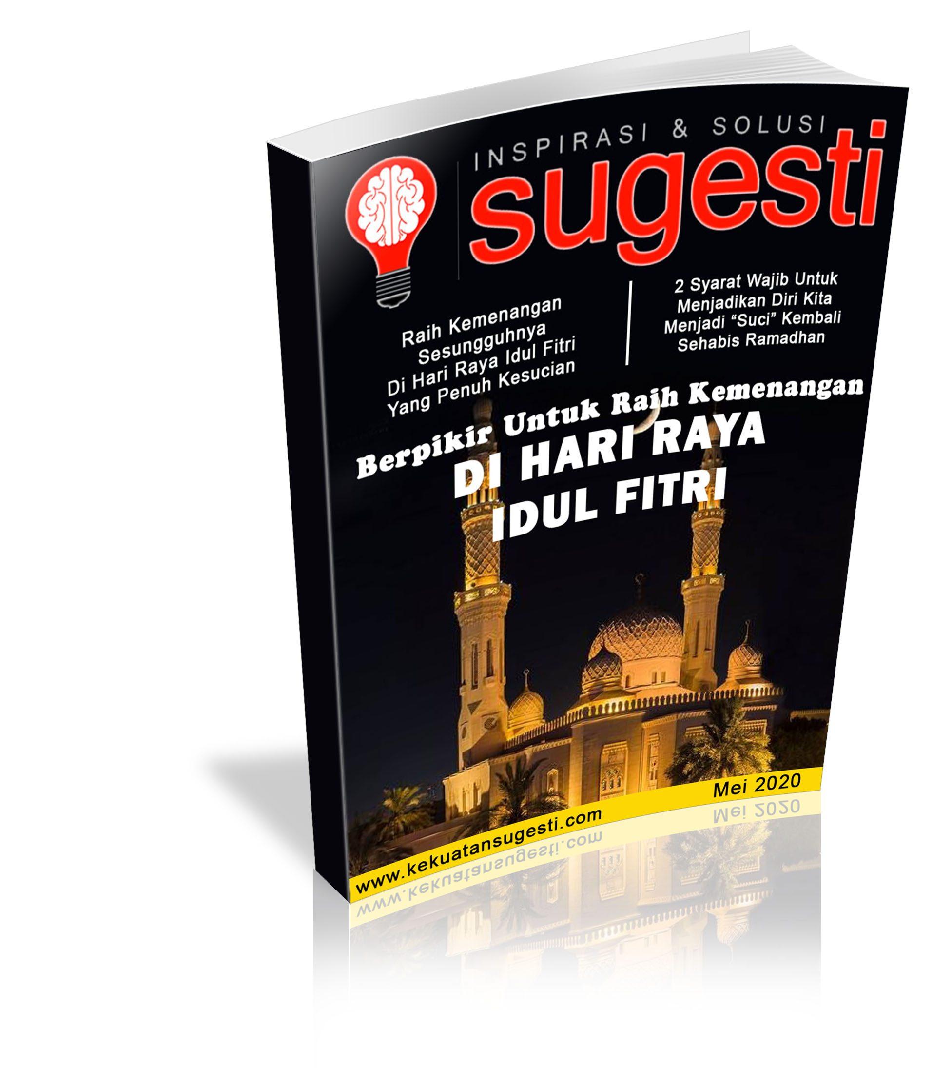 Majalah Sugesti Edisi ke Tujuhpuluh Satu bulan Mei 2020