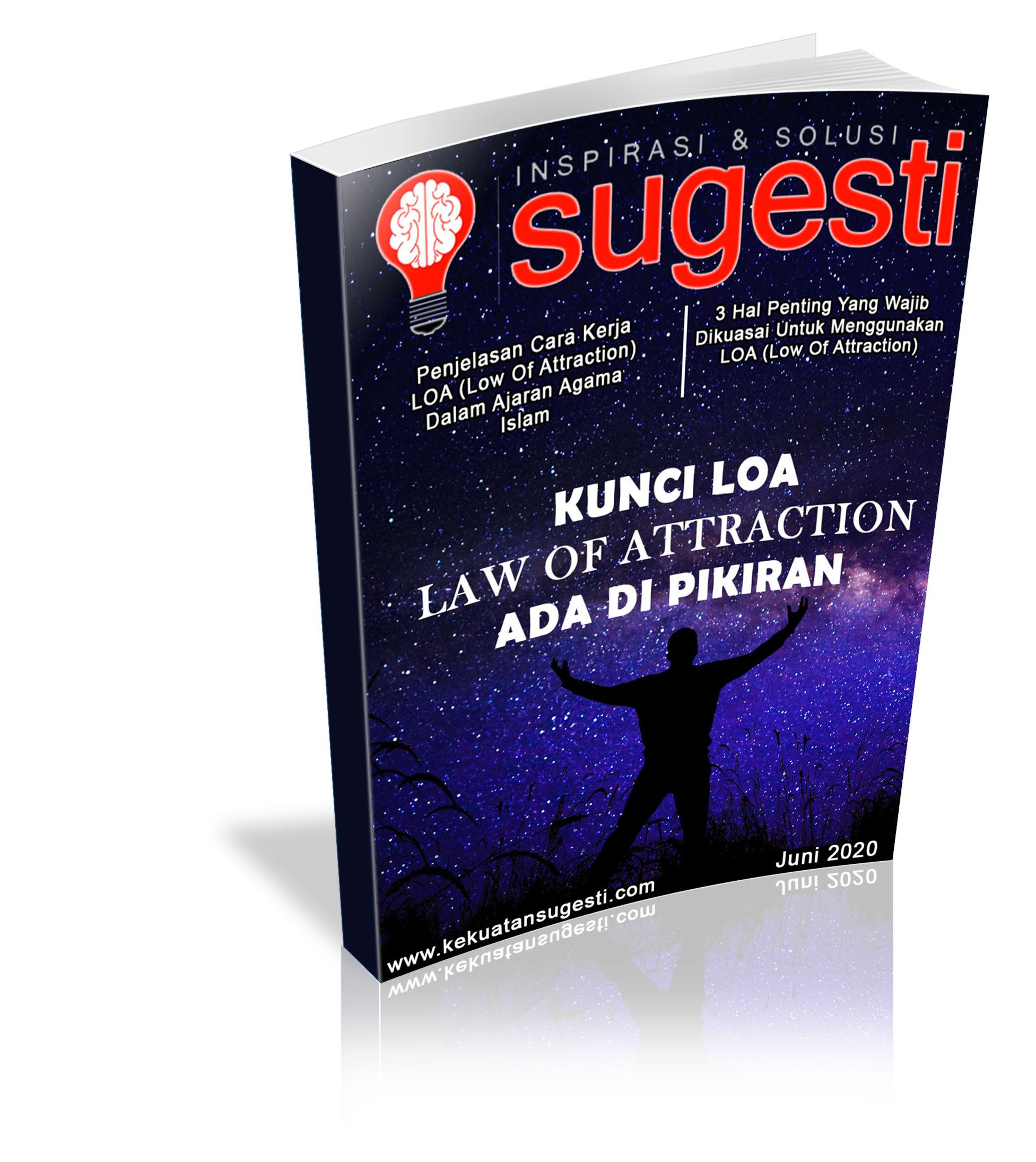 Majalah Sugesti Edisi ke Tujuhpuluh Dua bulan Juni 2020