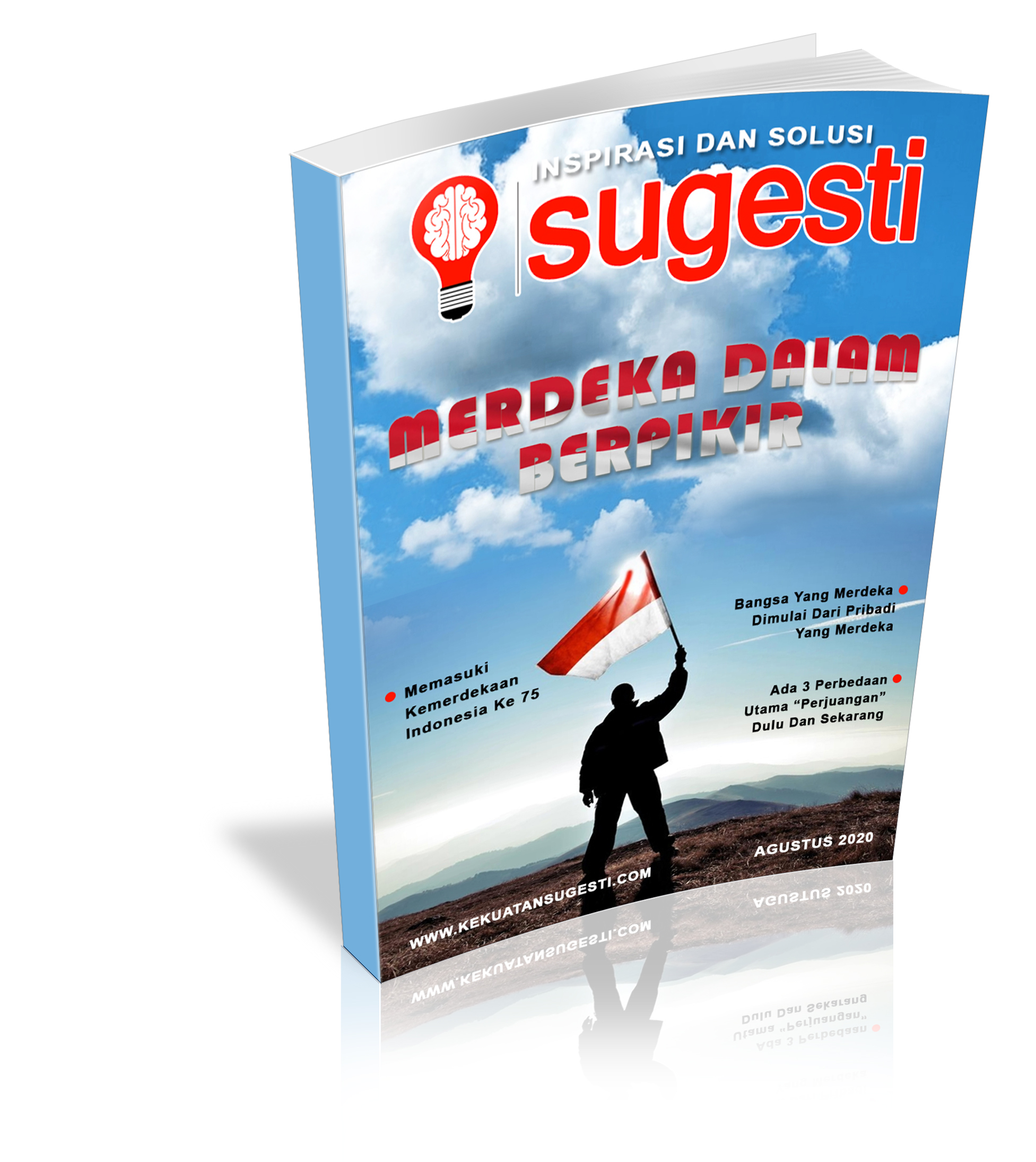 Majalah Sugesti Edisi Ke Tujuh Puluh Empat Bulan Agustus 2020