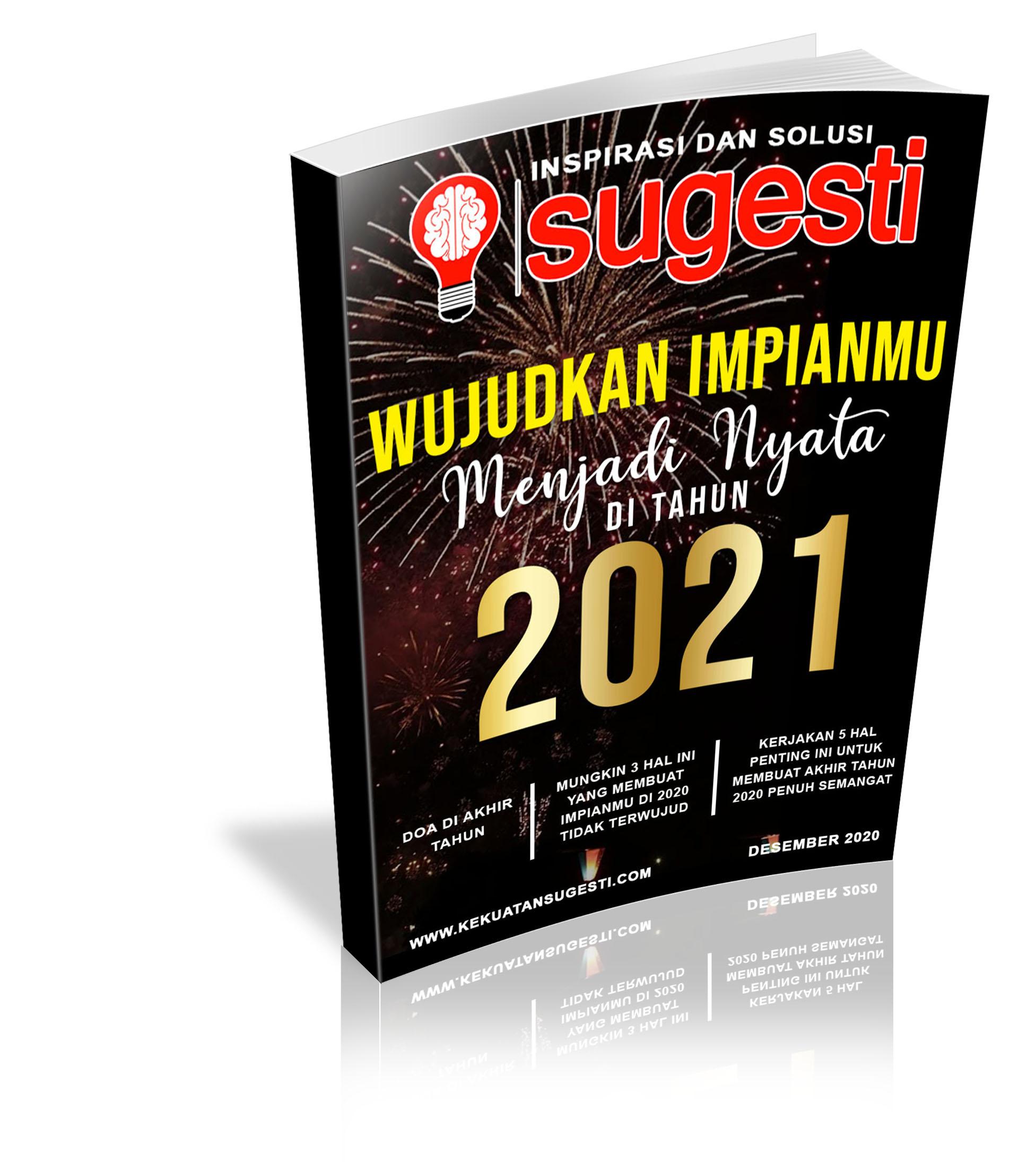 Majalah Sugesti Edisi Ke TujuhPuluh Delapan Bulan Desember 2020