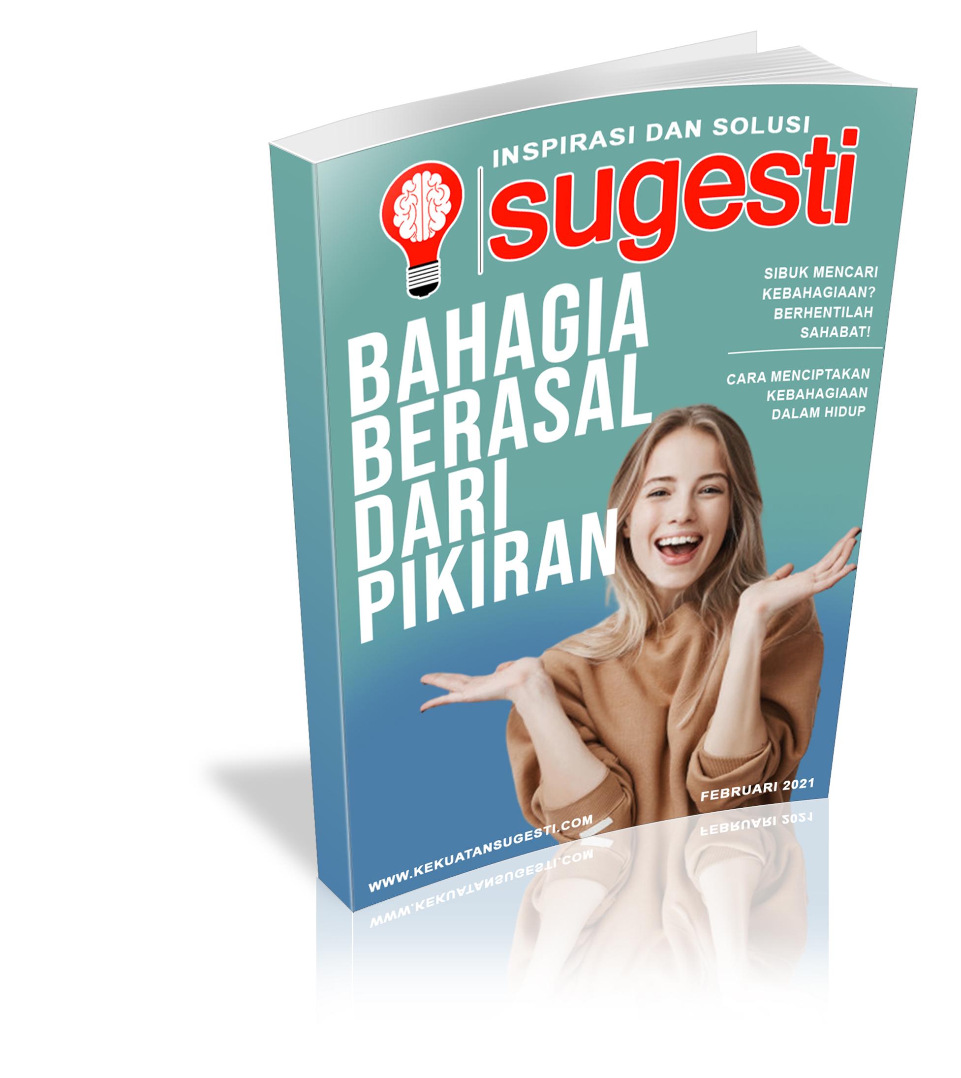 Majalah Sugesti Edisi Ke Delapan Puluh Bulan Februari 2021