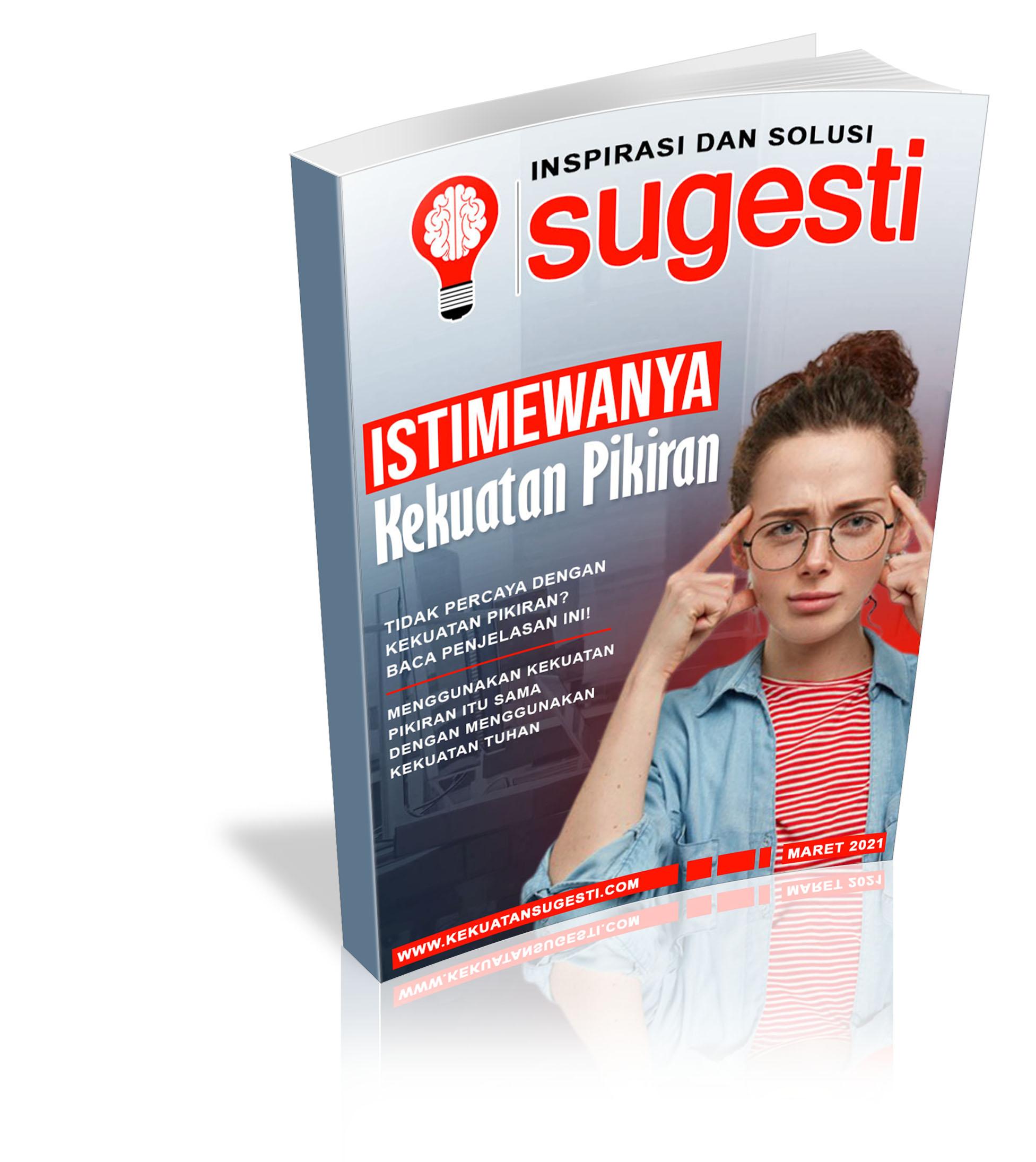 Majalah Sugesti Edisi ke Delapanpuluh Satu Bulan Maret 2021