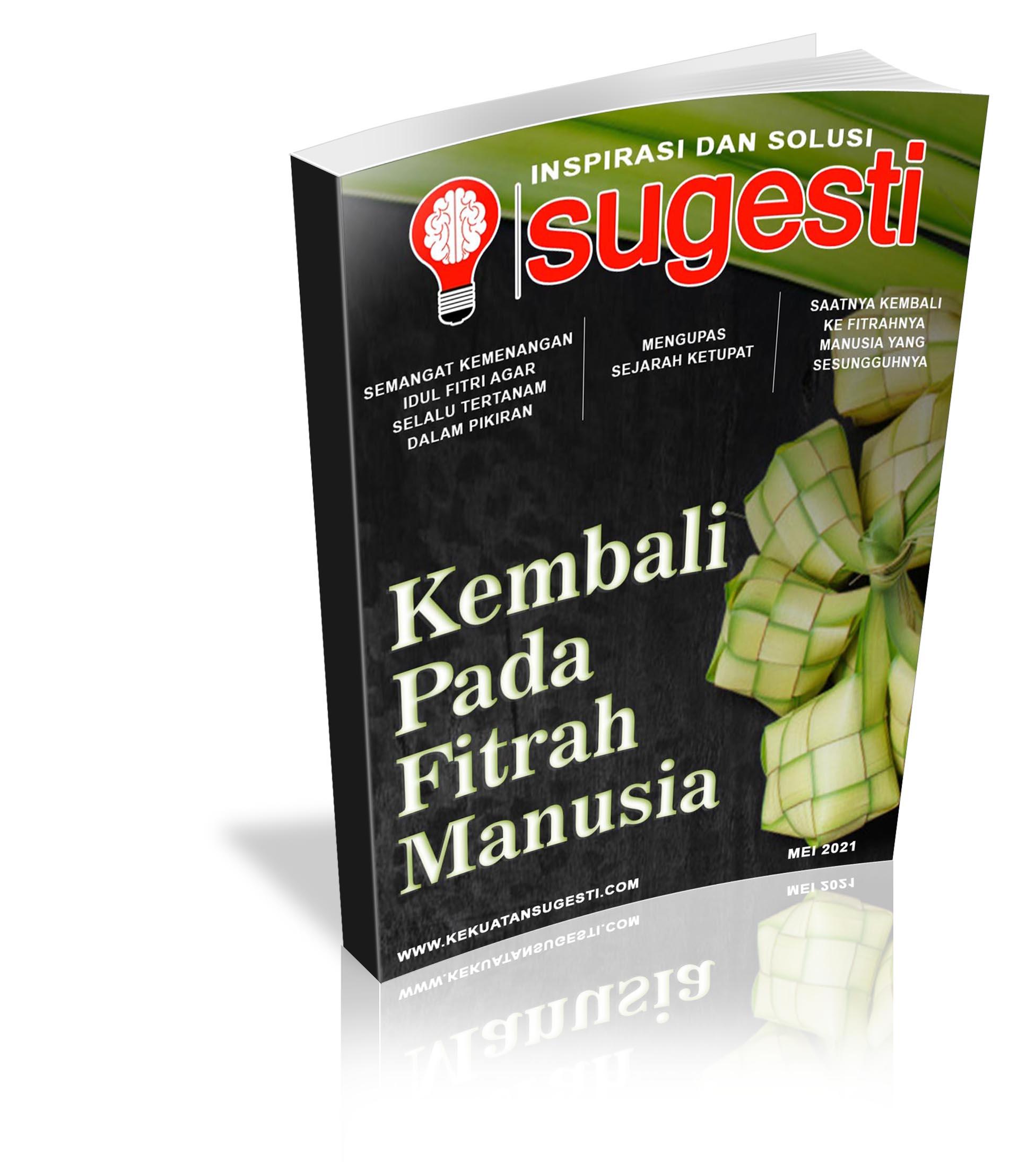 Majalah Sugesti Edisi ke Delapanpuluh Tiga Bulan Mei 2021
