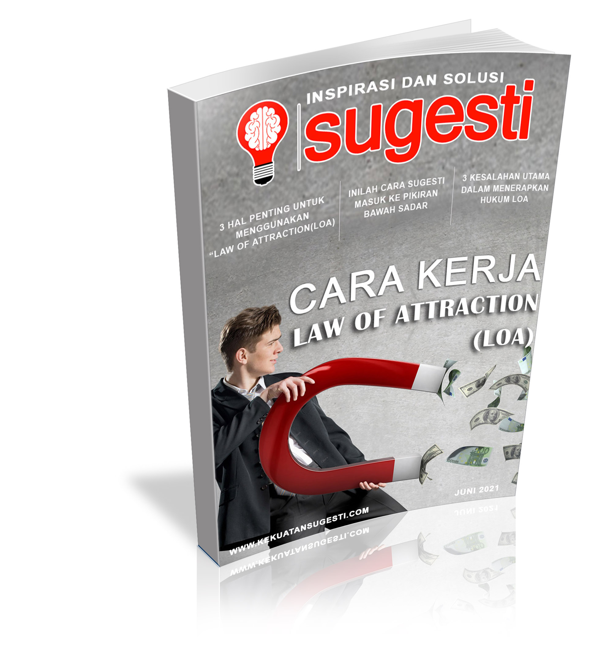 Majalah Sugesti Edisi ke Delapanpuluh Empat Bulan Juni 2021